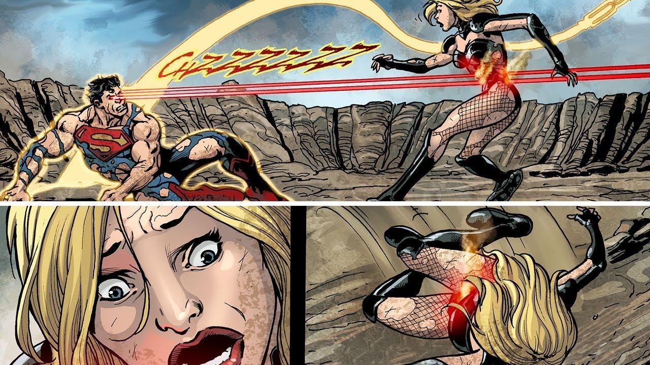 Cuando SUPERMAN casi ASESINA a CANARIO NEGRO en Injustice  #Shorts #injustice