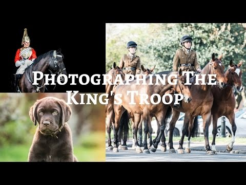 VISITING THE KING'S TROOPS IN LONDON - Weekly Vlog #36, Sophie Callahan Photography