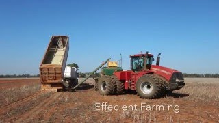 4 Case IH Steiger's Sowing, New South Wales, Australia 2015