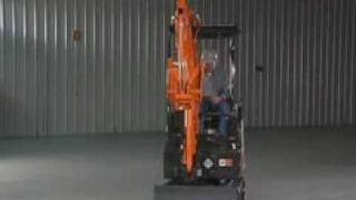 Video still for John Deere Hitachi U-Series Track Retractable WideShot