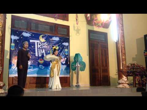 Chú Cuội và Chị Hằng chương trình TRĂNG TRONG TIM
