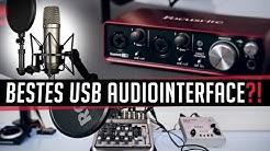 Focusrite 2i2 (2nd Gen) - Bestes USB Audiointerface?!