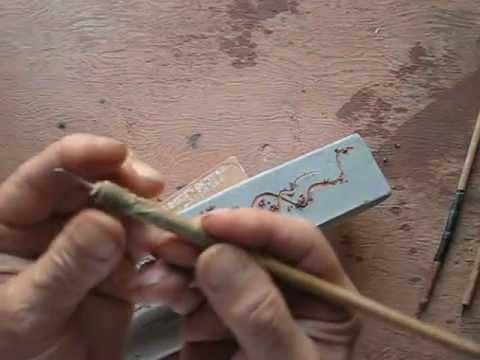 Clases De Ceramica 14 Esgrafiado Youtube