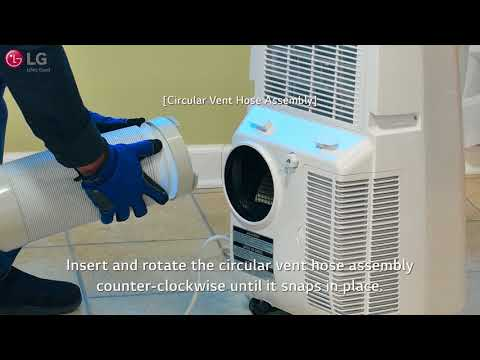 LG Portable Air Conditioner - Installation (2018 Update)