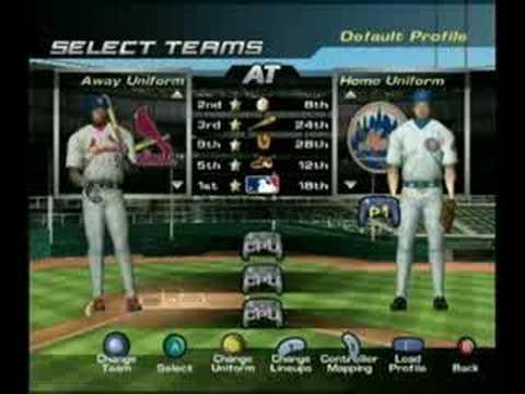 Nintendo Pennant Chase Baseball [GameCube UNRELEASED!]