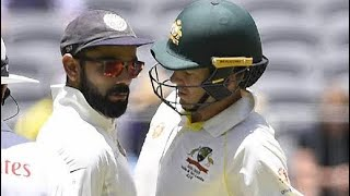 Virat Kohli & Tim Paine Big Fight Together & Sledge In Day 3 2nd Test Match