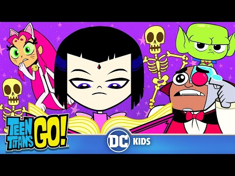 Teen Titans Go! | The History Of Halloween According To Raven | DC Kids