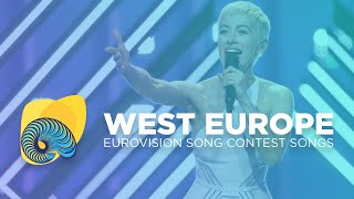 Top 8 of the Western Europe Entries - Eurovision Song Contest 2018