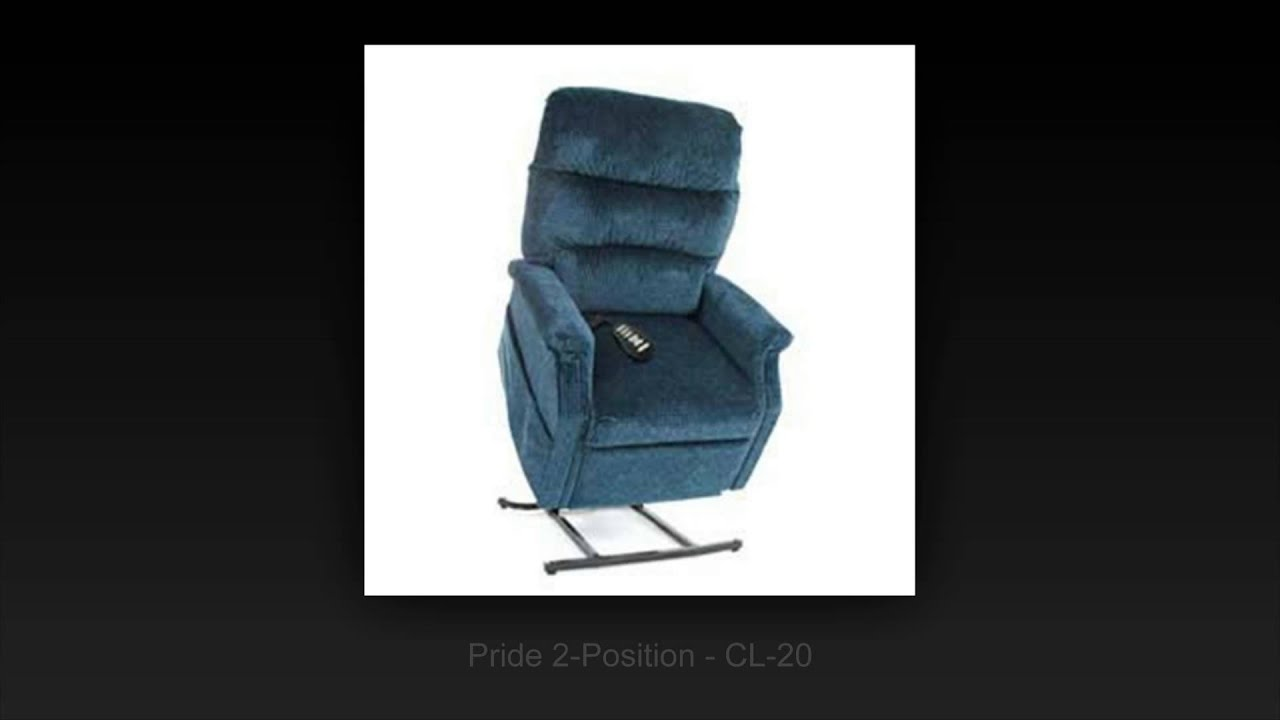 Pride 2 Position Lift Chairs