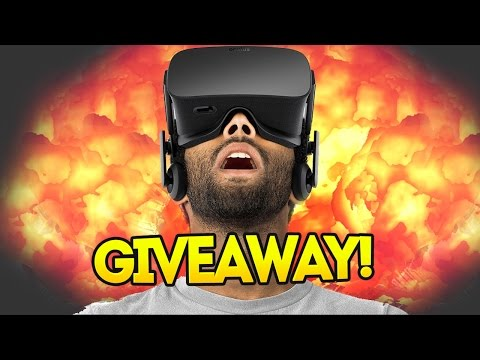 THE OLLI43 OCULUS RIFT MEGA GIVEAWAY! (Includes Bloopers)