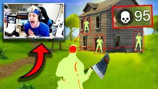 Top 10 Fortnite Streamers WHO RAN INTO HACKERS LIVE! *SHOCKING*