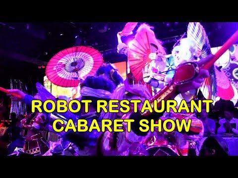 ROBOT RESTAURANT CABARET SHOW, Shinjuku, Tokyo, 2018