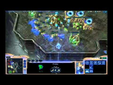 StarCraft 2: Live Stream - CombatEX [P], Deezer [P] - 2v2 Game 8