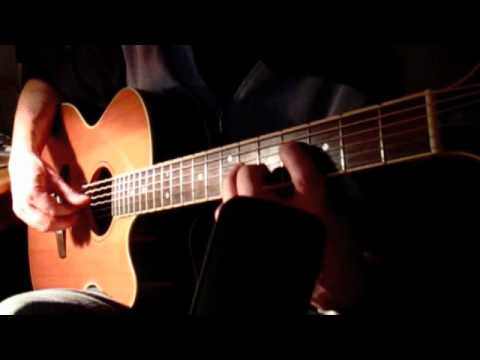 Silent Night  (Stille Nacht) - solo acoustic fingerstyle guitar - DADGAD