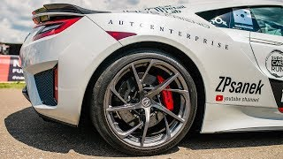 Super Cars Run 2019! Acura NSX - Обзор!