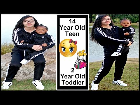 Day In A Life : Teen With a 2 Year Old Toddler