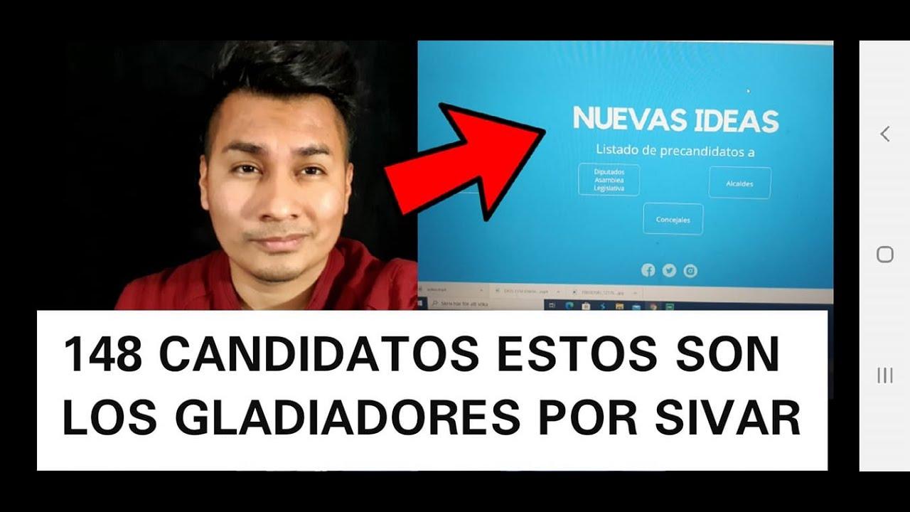 ESTOS SON LOS 148 CANDIDATOS  POR SAN SALVADOR