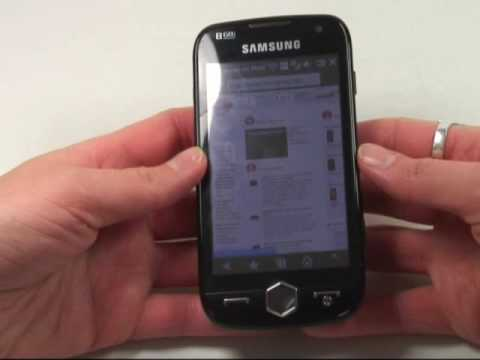 Samsung i8000 Omnia 2 Test Internet