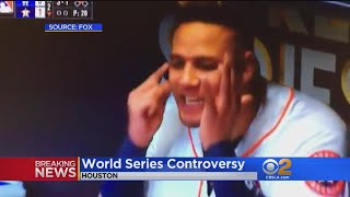Astros' Gurriel Makes Racial Gesture Toward Darvish