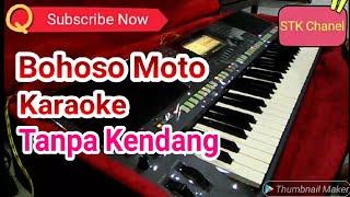 Bohoso Moto Tanpa Kendang Karaoke style manual yamaha s770