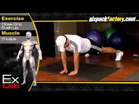 Close Grip Push Up : Best Tricep Exercises