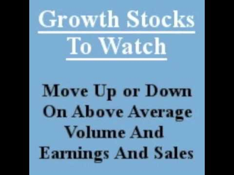 $ALR will this stock make you $ Great EPS TY closed in above avg vol 1 min video