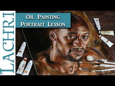 Oil Painting Lesson - Painting Dark Skin Colors w/ Lachri
