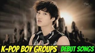 Video K-POP BOY GROUPS - DEBUT SONGS [1998-2015] download MP3, 3GP, MP4, WEBM, AVI, FLV Agustus 2018