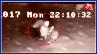 Caught On Camera : Woman Allegedly Raped By A Guard At A Temple In Mathura