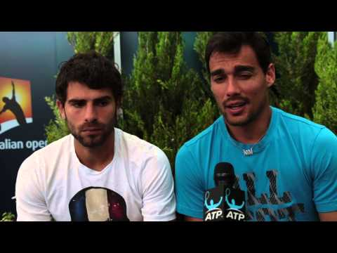 Melbourne 2015 Wednesday Bolelli Fognini Interview
