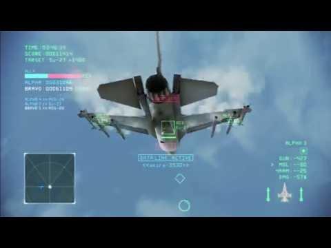 Ace Combat Infinity - Co-Op Battle 200 - Two Hundredth Vid!