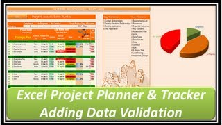 Excel -- Project Planner And Tracker -- Microsoft Excel 2013 -part 3