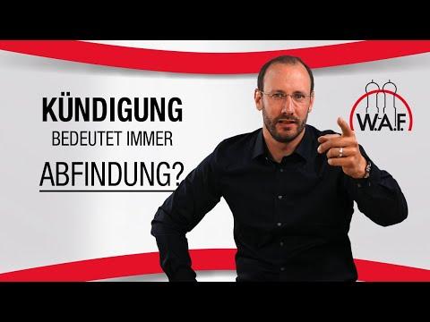 Erhalten Arbeitnehmer bei jeder Kündigung eine Abfindung? | Betriebsrat Video