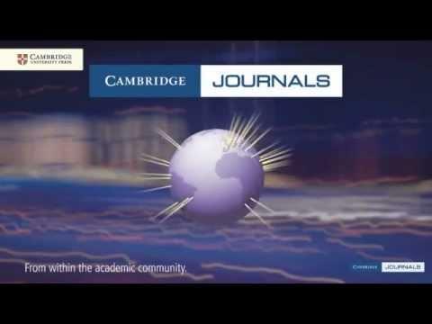 Cambridge Journals 2011 Overview