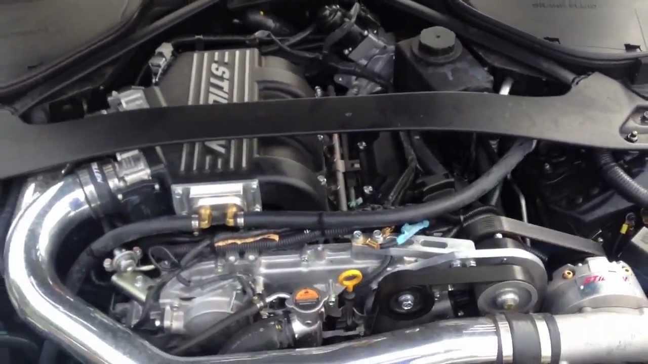 2012 Nissan 370Z Sport Stillen Supercharged - YouTube