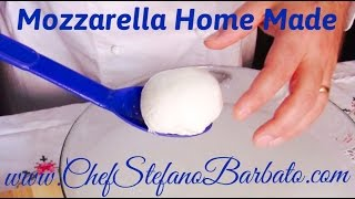Como Hacer Queso Mozzarella en Casa RECETA ORIGINAL ITALIANA
