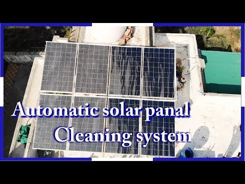 Automatic solar panel Cleaning System | By tips & tricks