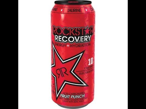 Honest Reviews: Rockstar Recovery Energy + Hydration - Fruit Punch