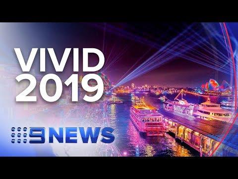 Sydney's Vivid 2019 Performance Line-up Announced | Nine News Australia