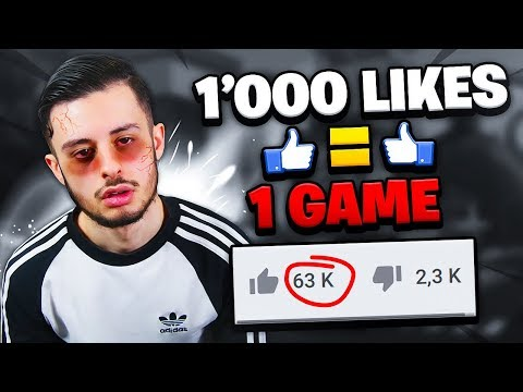 🔴 1000 LIKES = 1 GAME SUR FORTNITE BATTLE ROYALE ! (ça tourne mal)