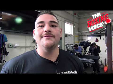 ANDY RUIZ JR. Makes His Return to the Ring After a 15-Month Layoff, Talks WILDER/ORTIZ