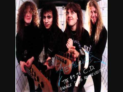 Metallica Last Caress / Green Hell (Lyrics) Garage Days Re-Revisited