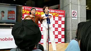 Y!mobileの営業でアジアンのライブです。