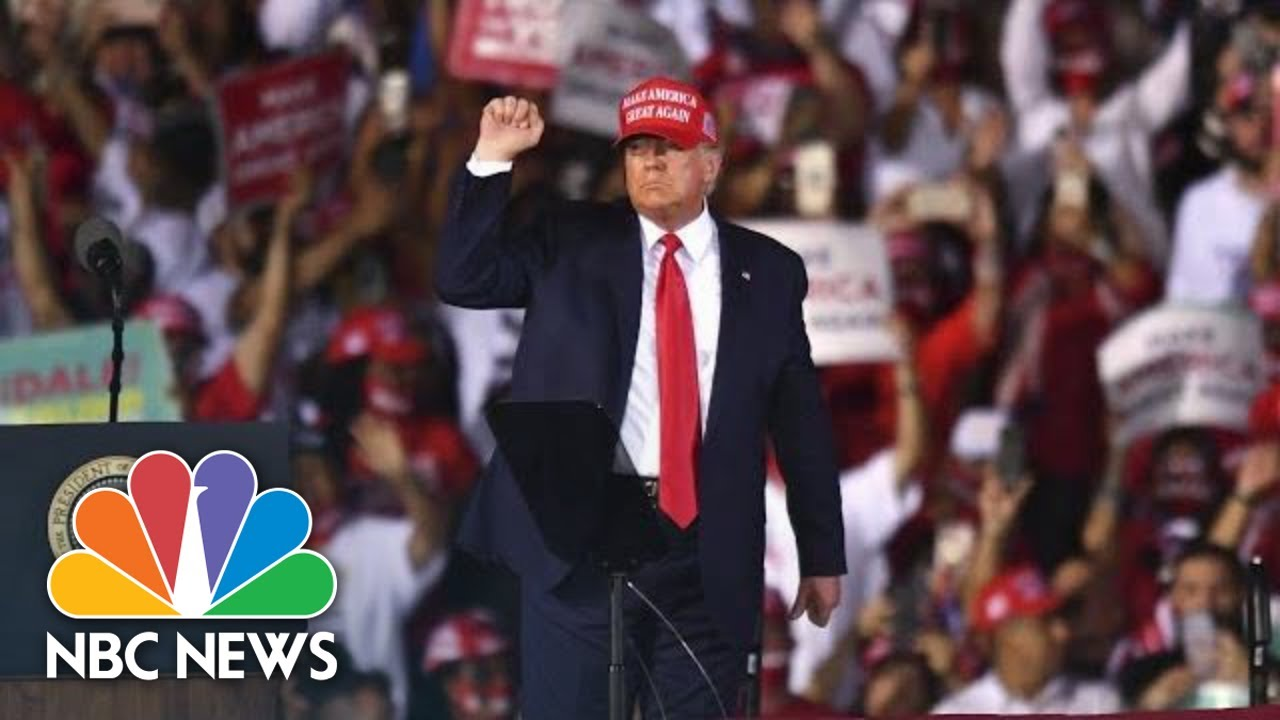 Trump Holds Campaign Rally In Wisconsin Nbc News Youtube