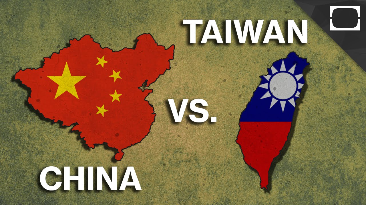 Why China And Taiwan Hate Each Other - YouTube