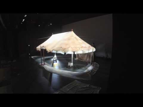 George Washington's Headquarters Tent is installed at Museum of the American Revolution