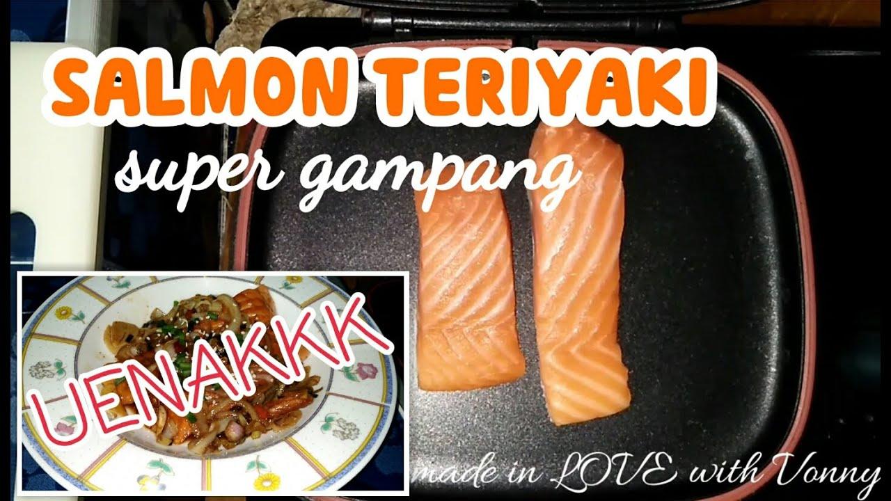 Cara mudah masak salmon teriyaki enak   salmon teriyaki ...