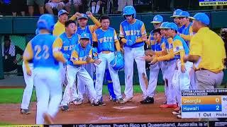 2018 LLWS 11th inning Georgia vs Hawaii