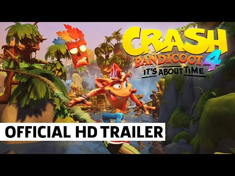 Crash Bandicoot 4: It's About Time – Official Reveal Trailer