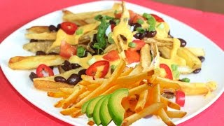 How To Make French Fries Chili - Cook And Eat Right! Video Recipe By Bhavna